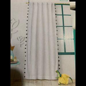 New fringe white & blk curtain panel (1)